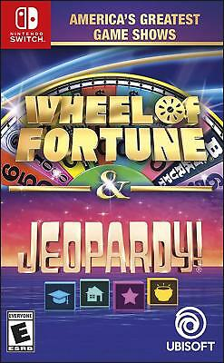 Wheel Of Fortune + Jeopardy Switch New! Fun Family Game Show Night! Contest Quiz