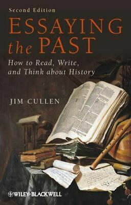 NEW Essaying the Past By Jim Cullen Paperback Free Shipping