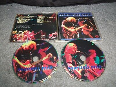 Lot of 3...GRATEFUL DEAD...LIVE CD'S...OUT OF YOUR SKULL & DEAD IN CORNELL 1 & 3