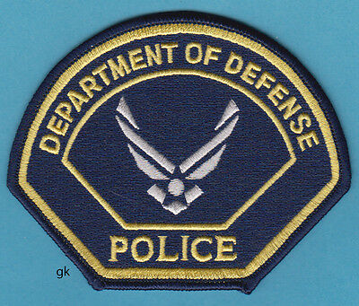 Department Of Defense Air Force Police Shoulder Patch