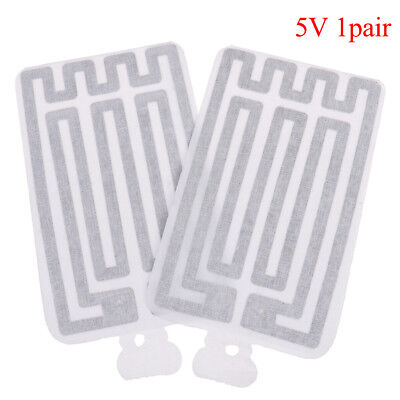 2pcs USB 5V 8*13CM Warm Heating Heater Winter Warm Plate For Waist Shoes Pad HU