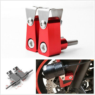 2 Pcs Red motorcycle ATV Modified Fog Lights Holder Support For Yamaha YZF R125