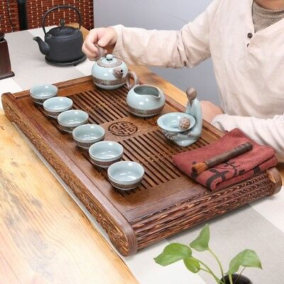 Wenge wood tea tray solid wood serving trays wooden tea table classical 65cm new