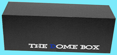 The DOME GRADED BLACK CARD BOX Sports Trading Storage Case Slab PSA Beckett
