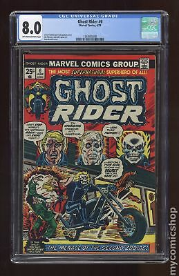 Ghost Rider (1st Series) #6 1974 CGC 8.0 1263605008
