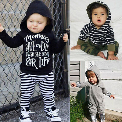 Baby Boy Clothes Kids Boys Clothing Suits Outfits Sets Hoodie Sweatshirt + Pants