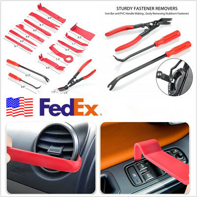 19*Multifunction Automotive Fastener Trim Removal Plier Clips Panel Remover Tool