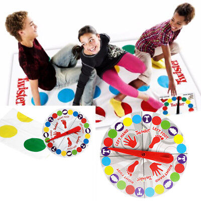 2018 Funny Twister The Classic Family Kids Children Party Body Game Moves Hasbro