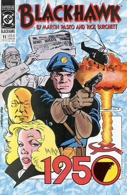 Blackhawk (2nd Series) #11 1990 VF Stock Image
