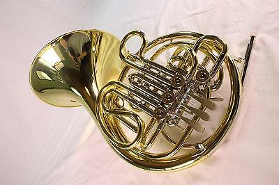 Holton Model H378 'Farkas' Intermediate Double French Horn MINT CONDITION