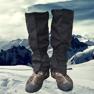 Outdoor Hiking Waterproof Camping Shoe Cover Snow Gaiters Desert Travel Wrap