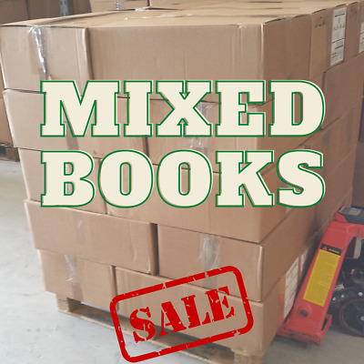 Pallet of over 1200 Used Books   FREE Delivery! Mixed Category Wholesale Joblot