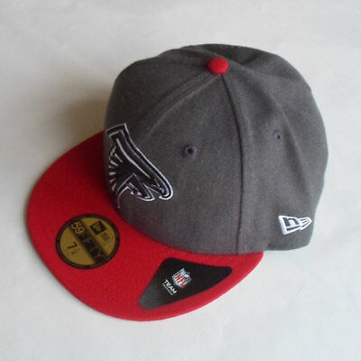 Atlanta Falcons New Era 59FIFTY Grey Fitted Cap - 7 1/4