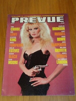 Prevue #64 Vol 2 #24 May/jul 1986 Laurene Landon Tom Cruise Us Magazine =