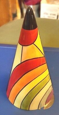 Lorna Bailey FINALE sugar shaker ltd edn signed in red with ERROR FREE P&P %