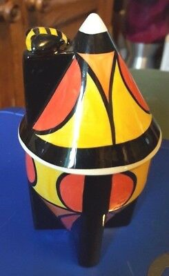 Lorna Bailey lidded HONEY POT Limited Edition 63/250 FREE P&P %