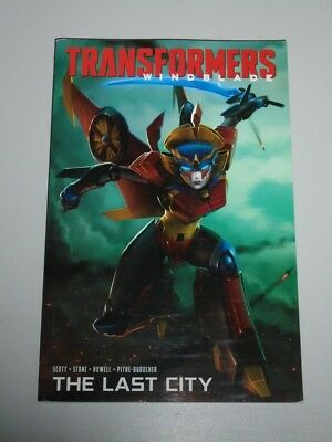 Transformers Windblade Last City IDW Scott Stone (Paperback)< 9781684052240