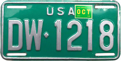 1973 US FORCES in GERMANY license plate (JIMMY'S GARAGE)