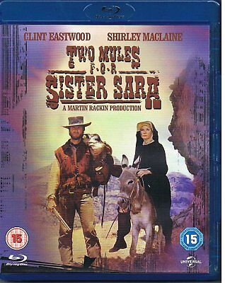 Two Mules For Sister Sara (1970) Clint Eastwood - Blu-Ray BRAND NEW Free Ship