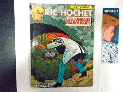 1994 / Ric Hochet 47 + Marque Page Inedit Neuf !