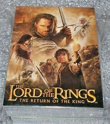 Return of the King Update Trading Cards Base Set 91-162 Lord of the Rings