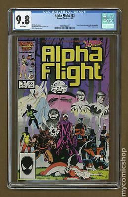 Alpha Flight (1st Series) #33 1986 CGC 9.8 1396745003