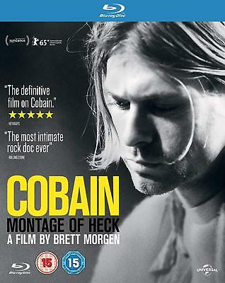 Cobain - Montage of Heck (2015) Blu-Ray BRAND NEW Free Shipping