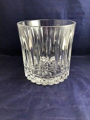 Cristal d'Arques France 24% Lead Crystal Ice Bucket - VINTAGE / CLASSIC Pattern