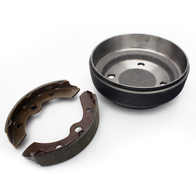 Golf Carts Brake Shoes+Brake Drum For EZGO 2-Cycle Gas 1982 1983 Electric 1982+