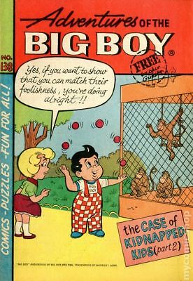 Adventures of the Big Boy #138 1967 GD/VG 3.0 Stock Image Low Grade