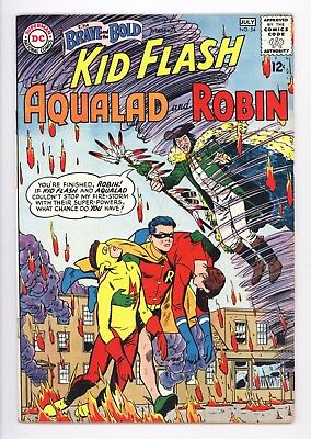 Brave and the Bold #54 Vol 1 Near Perfect High Grade 1st App of Teen Titans 1964
