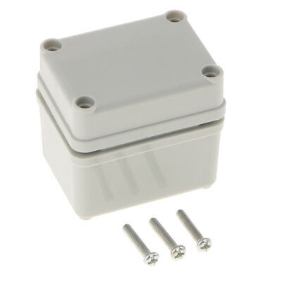 1Pcs Enclosure Cable Junction Box Adaptable ABS Plastic Outdoor Waterproof
