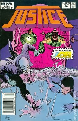 Justice (Marvel) #29 1989 FN Stock Image