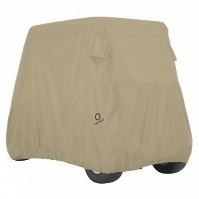 Classic Accessories Golf Carrello Cover Kaki per 4 Persona Carrelli lungo Tetto