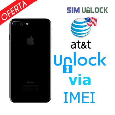 Premium FACTORY IMEI UNLOCK SERVICE AT&T CODE ATT for IPhone 5 5S 6 6s SE 7 8 X