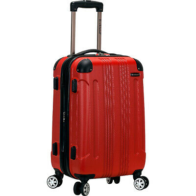 "Rockland Luggage Sonic 20"" Hardside Spinner Carry-On - Hardside Carry-On NEW"
