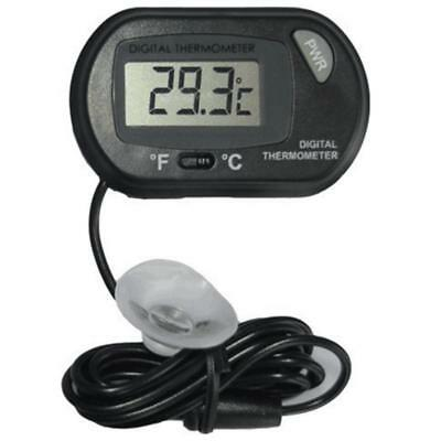 Digital LCD Thermometer With probe For Aquarium Fish Tank Reptile Terrarium