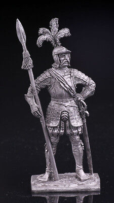 The captain of the mercenaries | TIN TOY SOLDIER | METAL MODEL, FIGURE | M-178