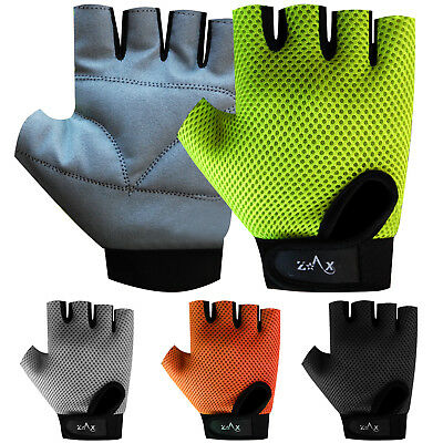 Ladies Weight Lifting Gloves Body Building Gym Fitness Gloves Amara Leather S-M