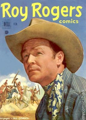Roy Rogers Comics ((And Trigger, # 92 on) #38 1951 GD/VG 3.0 Stock Image