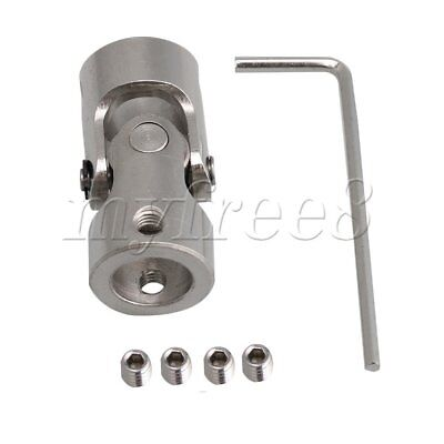 ID10mm-10mm 45# Steel Rotatable Motor Shaft Universal Joint Connector Coupler