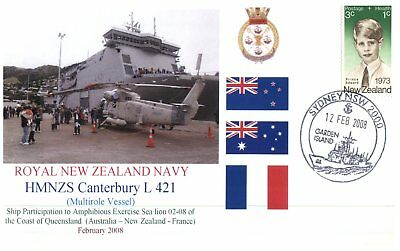 Navy covers - New Zealand HMNZS Canterbury to exercise Sea Lion 2008