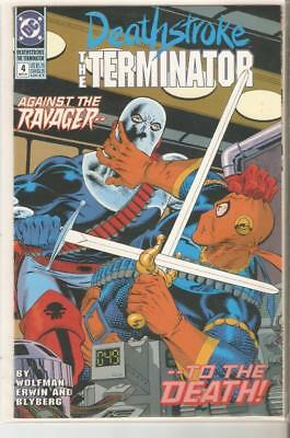 DC: Deathstroke the Terminator (1991-1992) Your Choice #'s 4-16