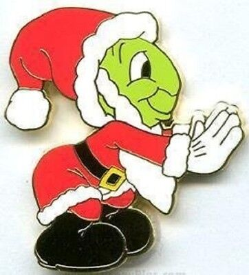 Disney Christmas Pin Pursuit Jiminy Cricket Completer Limited Edition 3000 pin
