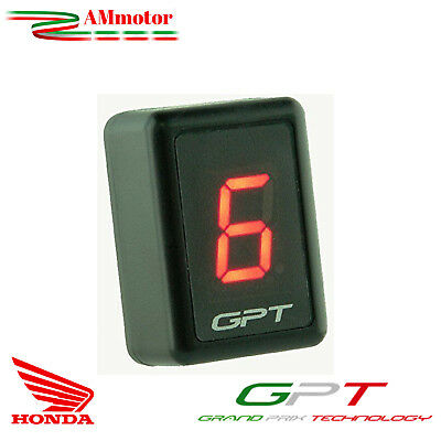 Contamarce Gpt Honda Transalp 700 2008 Plug & Play Gear Display Led Rosso Moto