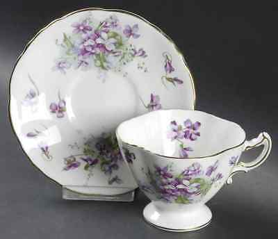 Hammersley VICTORIAN VIOLETS Cup & Saucer 7006053