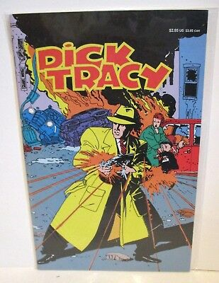 Walt Disney Publishing Dick Tracy Comic Book Graphic Novel Book #3 Of The Series