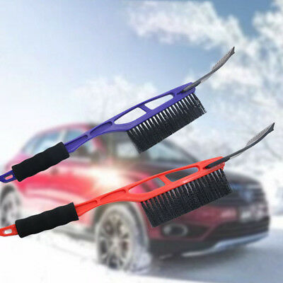 Car vehicle durable snow ice scraper snow brush shovel removal for winter HF