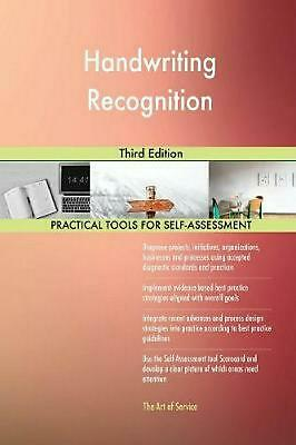 Handwriting Recognition Third Edition by Gerardus Blokdyk (English) Paperback Bo