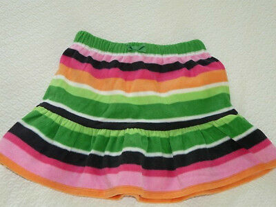 NNWT Gymboree Cheery All The Way Striped Fleece Skirt Size 3
